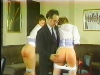 Naughty nieces 1985 spanking...