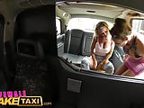Female Fake Taxi Steamy Lesbian Pussy Licking action