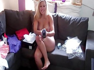 MDG 138 pt1 - Cindy opening presents from fans