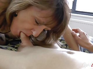 with AgedLovE Mature Stud Shows Horny Handy