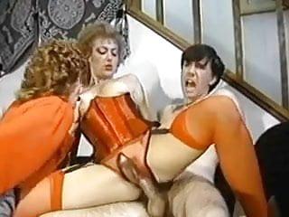 Vinatge Ffm With Crotchless Panties