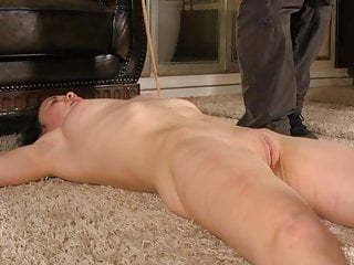 Spanking Slave Submissive video: Caning for submissive slave