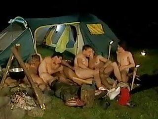 At camping...