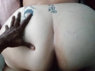 sexy milf with HUGE ass enjoys my BBC