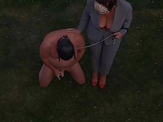 Femdom flr mistress teri walks her cfnm slave...