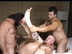 Hot flip fuck daddies threesome