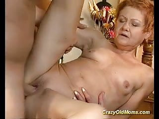 Older babe fucked and cumshot load on face...