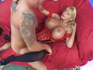 Big Tit MILF Gets Fucked in Stockings