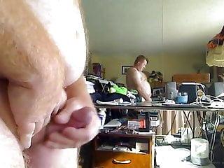 Hot daddy cuming