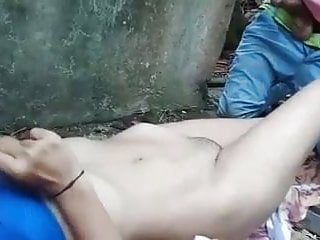Tamil Randi caught fucking while fucking with two customers