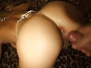 Blonde fucked and watched by a friend