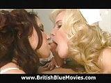 Hannah Harper and Flick Shagwell - British DVD Porn