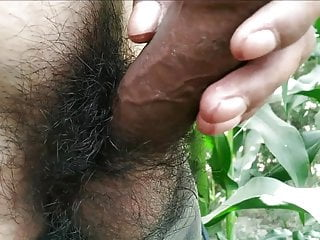 Hairy gay porn videos handjob and cumshot in outdoor,village