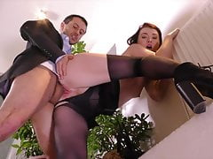 black stockings secretary misha cross hard fucking free full porn