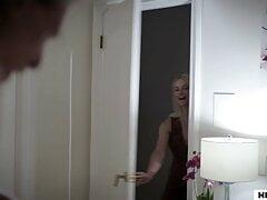 Slut girl and mom fighting over strange old man's dick