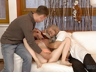 Old Amp Hd Videos European video: DADDY4K. Adorable Vanessa Shelby comes closer to her bf