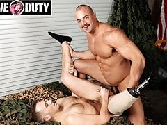 Amputee Justin Lewis Loves Big Hard Military Cock