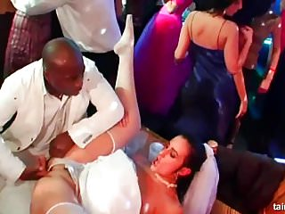 Superb horny brides suck big cocks...