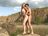 Outdoor sex laden with lust