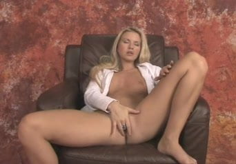 Blonde Masturbates With Dildo Fm14 Dildo Blonde Dildo