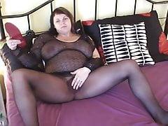 Pregnant nylon show part 1