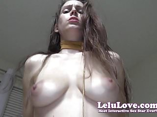 Lelu Love-Slave LayYa point of view Blowjob Using Hot creampie