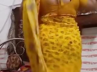 bhabhi milf stripping for lover