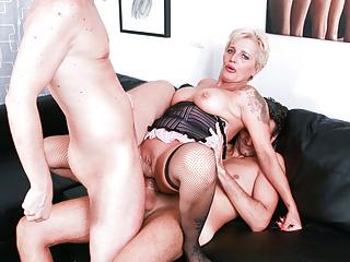 LETSDOEIT – DP Mature Lover Getting Fucked By 2 Big Cocks