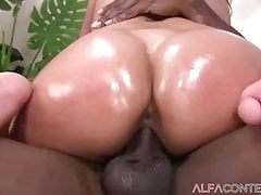 Hot Babe Gets Her Pussy Destroyed By A BBC