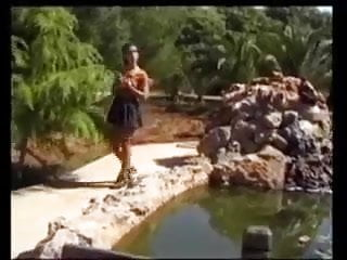 sr three lucky guys find a beautte fuck in the park !Porn Videos