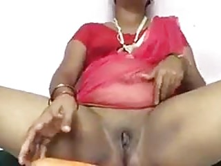 Desi Aunt Pleasuring utilizing CARROT