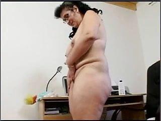 Kövér érett pornó