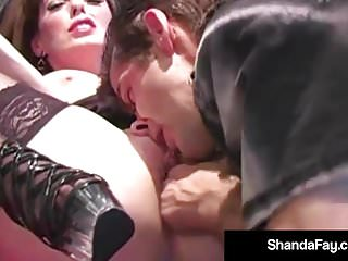 Horny Housewife Shandafay Gives Hubby A Hot Creamy Facial