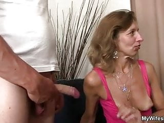 She sees fucking not mother in law...