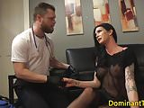 Transgender dom anal fucks doctor doggystyle