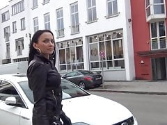 FETISH DIVA NADJA IN FULL LEATHER SUIT