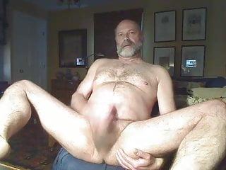 Older guy jerking 3...