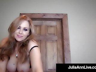 Cock Hungry Milf Julia Ann Sucks Your Hard Cock Pov