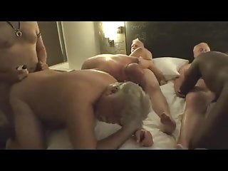 Old daddies amp daddy lovers in group sex...