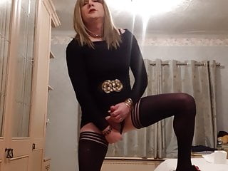 Amateur uk tv tranny cum...