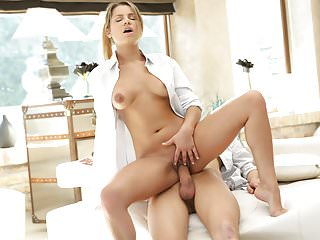 Sexy euro girl angel rivas on dick...