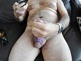 Amateur Big Uncut Cockring Cumshot