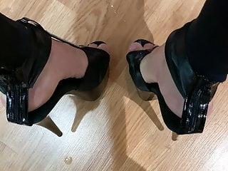 Exploding on my heels...