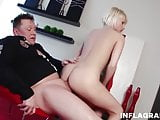 Fat German fucks Paris Pink in a hotel room