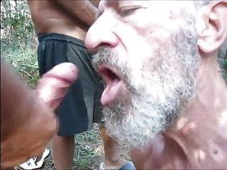 Cruising forest cocksucker...