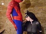 spiderman fucks batwoman