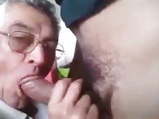 Daddy sucks dick