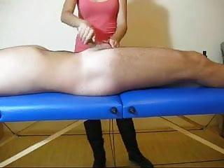 Massage parlor cfnm handjob...