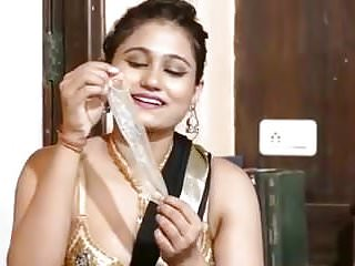 Desi playing with condom...
