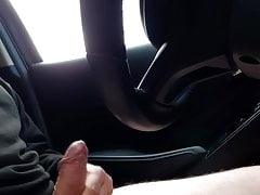 short car wank test (no cum)Porn Videos